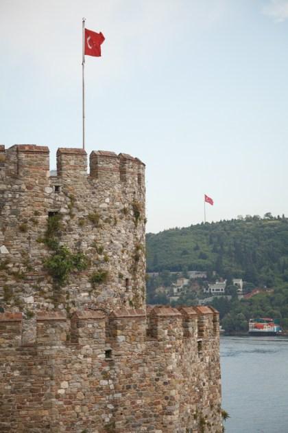 Башня крепости Румелихисари, Стамбул, 2013