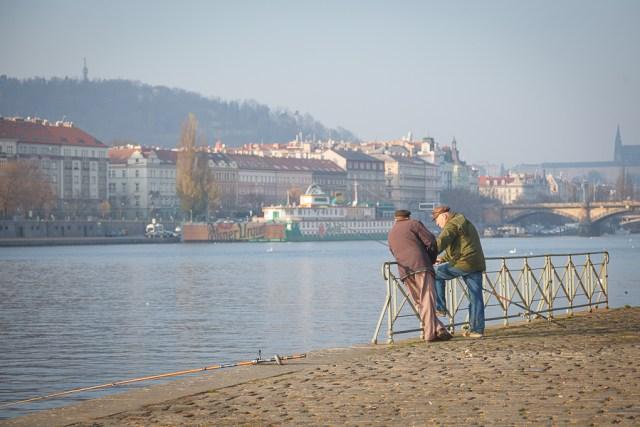 Набережная, Прага, 2012