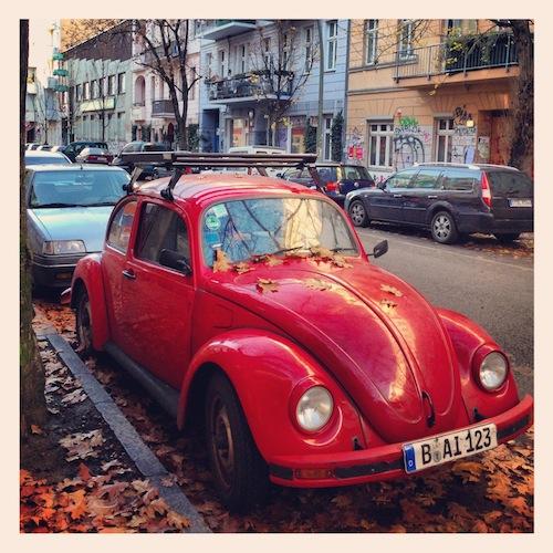 Легендарный жук VW Beatle, Берлин, 2012