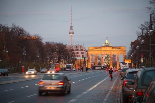 Брандербургские ворота, Берлин, 2012
