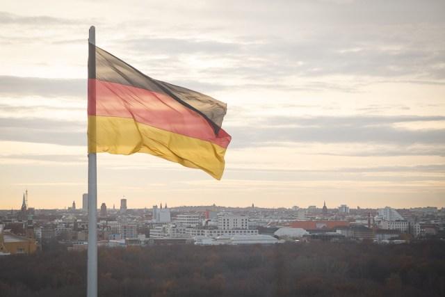 Немецкий флаг, Берлин, 2012