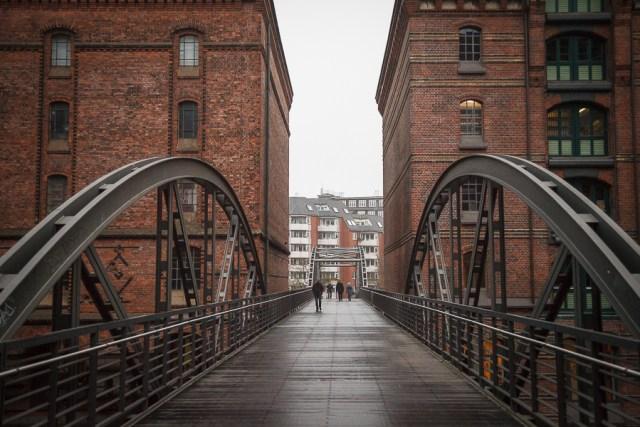 Мосты и каналы. Гамбург, 2012
