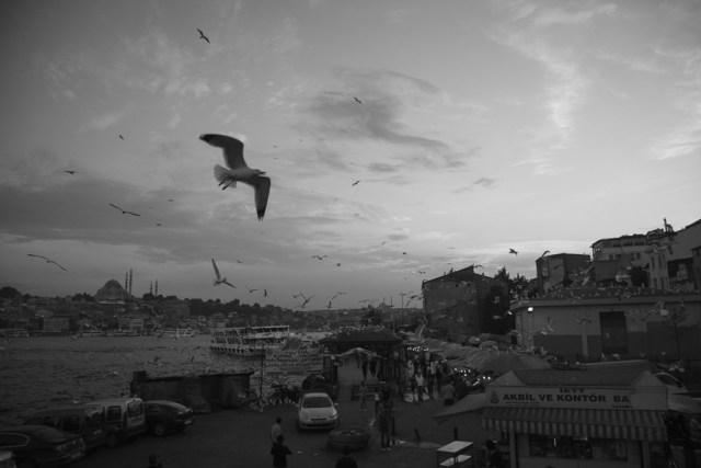 Набережная рядом с Галатским мостом, Стамбул