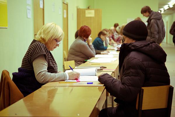 Выборы в госдуму 2012, 4 декабря. Запись голосующих