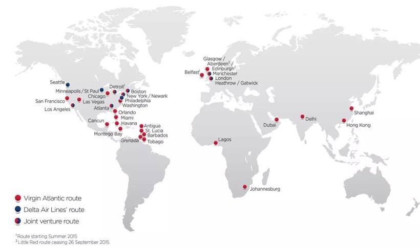 virgin airlines destinations map | Yoktravels.com
