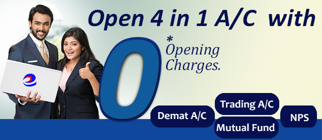 4 in 1 Demat account opening offer