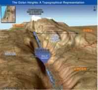 La mer de Galilée ( ou lac de Tibériade ) et le Jourdain émanant du Golan constituent les principales réserves d'eau de la région
