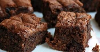 Resepi Almond Brownies Cookies