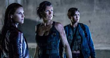 Photo de Resident Evil : The Final Chapter avec Milla Jovovich, Ali Larter et Ruby Rose.