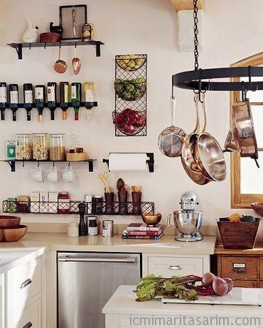 Küçük Mutfak Tasarımları (21)