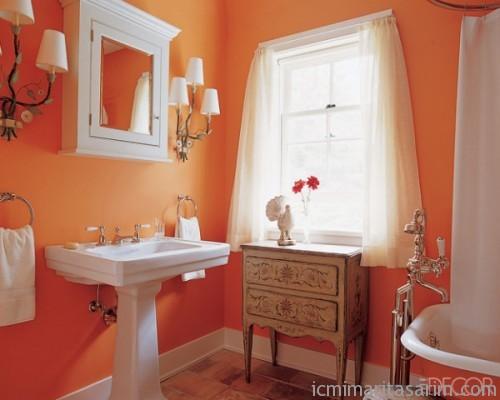 Parlak Ve Renkli Banyo Tasarım Fikirleri (16)