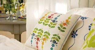 yatak örtüsü dekorasyonu