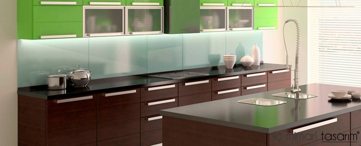 Дизайн стен кухни из панелей