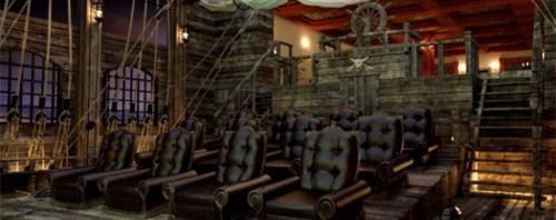 İnanılmaz Görsellikte Sinema Salonu Tasarımları