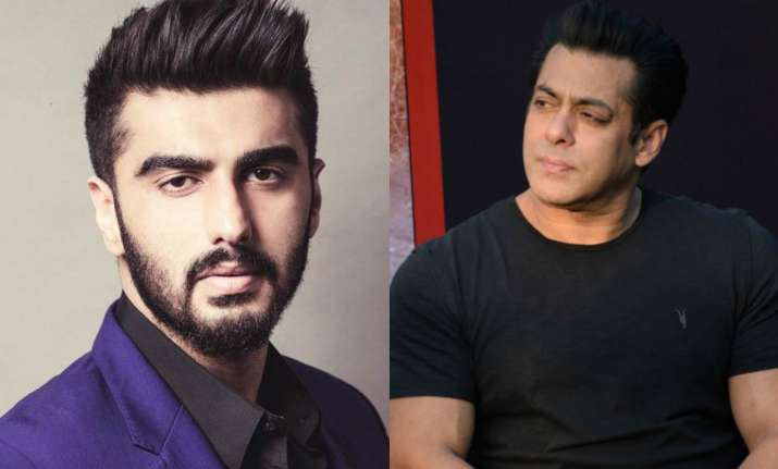 After Salman Khan apparently ignores Arjun Kapoor at Sonam s wedding     In a video doing rounds on social media  one can see Salman Khan greeting  Katrina Kaif and Boney Kapoor  while ignoring Arjun Kapoor  who was  standing right