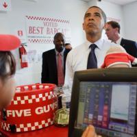 Five Guys : les burgers préférés d'Obama arrivent à Paris