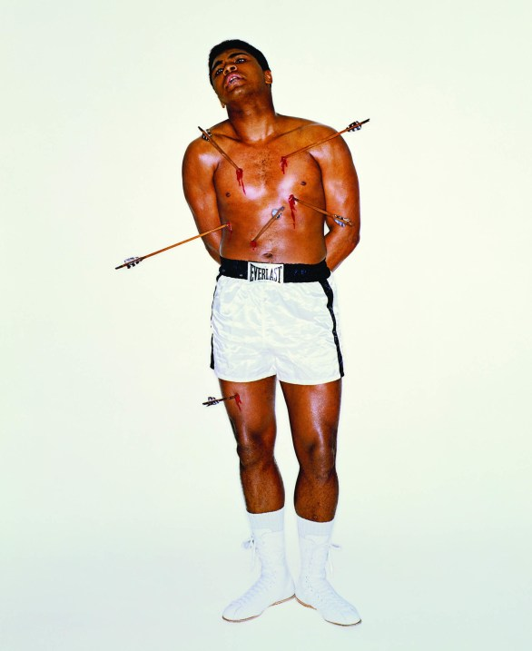 carl-fischer, Charlie-fish, cover, esquire, george-lois, iconic-image, Magazine, muhammed-ali, photo-history, photography, saint-sebastian, the-greatest