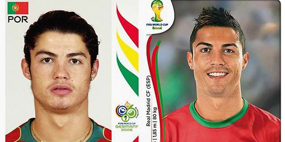 World Cup Stars - Then and Now
