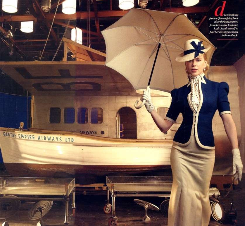Nicole Kidman / Vogue Magazine © Annie Leibovitz