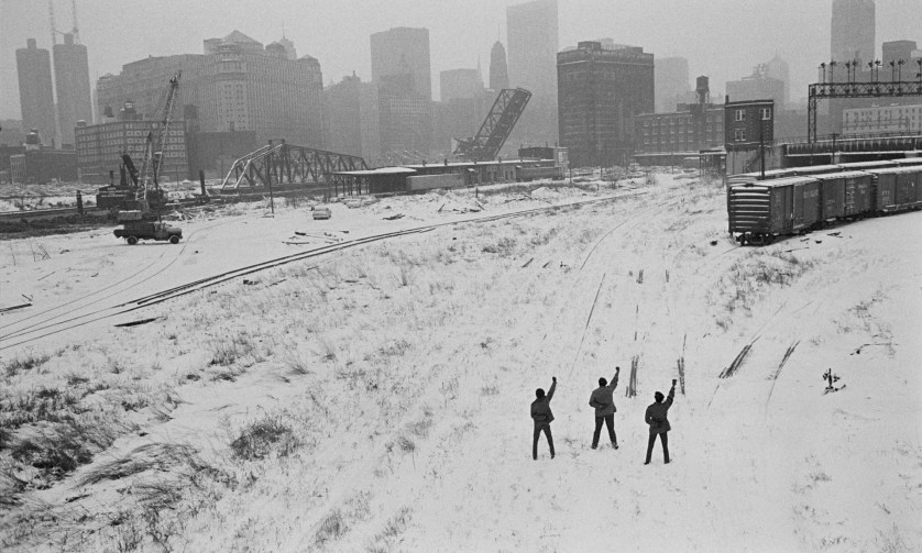 Other than subjects in the Far East, he also photographed the 1968 US Elections and much of US 60's history © Hiroji Kubota