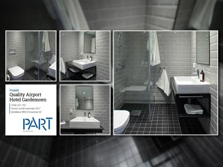 Referensrum Quality Airport Hotel Gardemoen – 1 av 142 rum