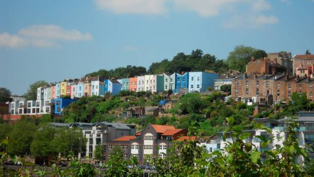 An A to Z of Bristol  United Kingdom  More than just Banksy   Stuff     Candy coloured houses line the landscape of Bristol  The city is sometimes  overlooked for