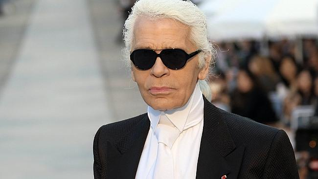 German fashion designer Karl Lagerfield is not afraid to use fur in his collections.
