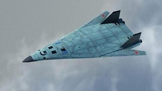 Death from above ... A concept image for Russia's new PAK DA stealth bomber. Source: Supp