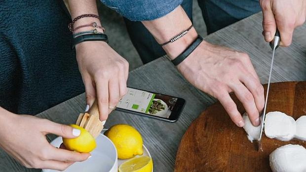 Lifestyle tracker ... Jawbone's Up2 fitness tracker measures steps and sleep, and its app