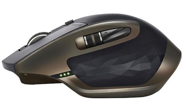 Mastering the mouse ... Logitech's MX Master mouse features customisable buttons.