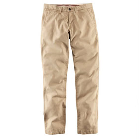 camel chinos