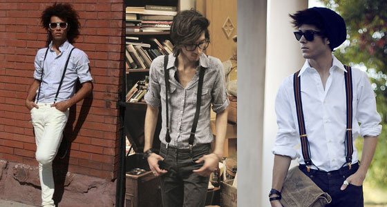 Suspenders for the Casual Cool Look
