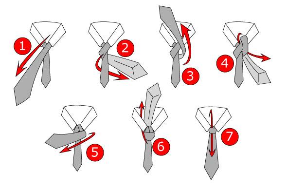 how to fix tie knot