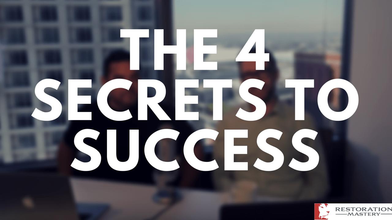 The 4 Secrets to Success (RMTV9)