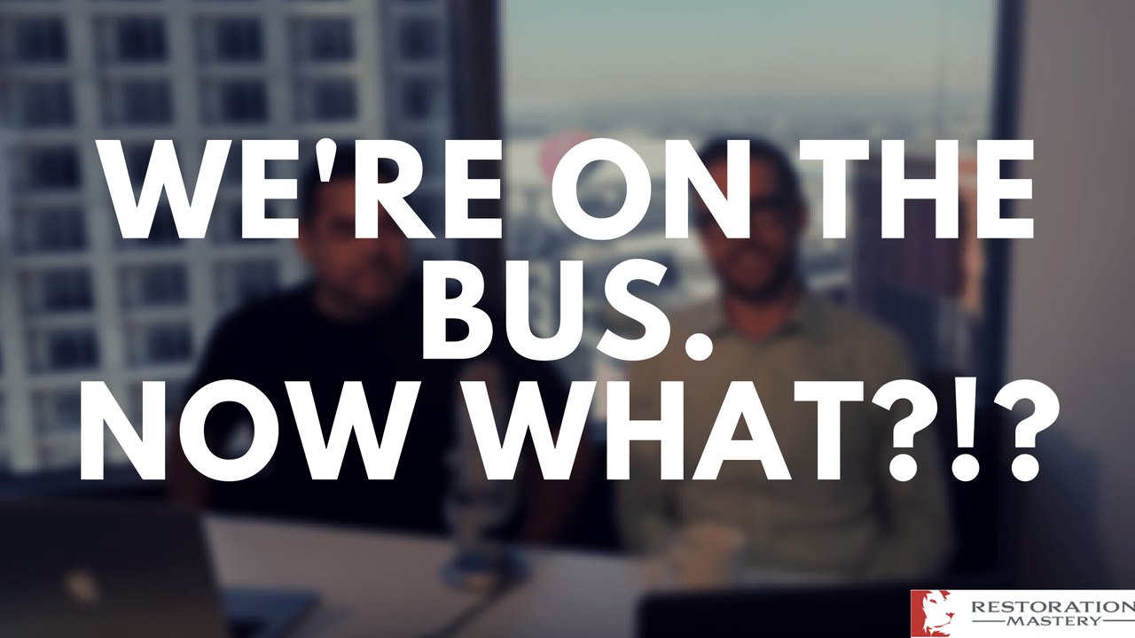We're on the bus! Let's MOVE! (RMTV16)
