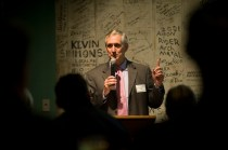 Portland Mayor Charlie Hales was the featured speaker at the 2013 DeMuro Awards. Photo by Drew Nasto