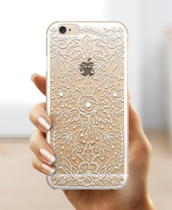Lace White iPhone Case