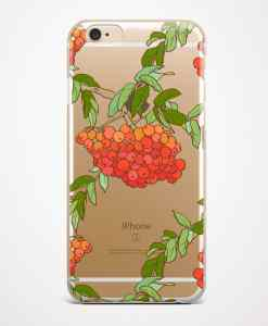 rowan phone case transparent gold