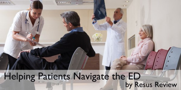 Helping Patients Navigate the Emergency Department