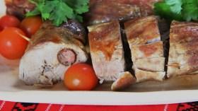 Muschiulet de porc umplut