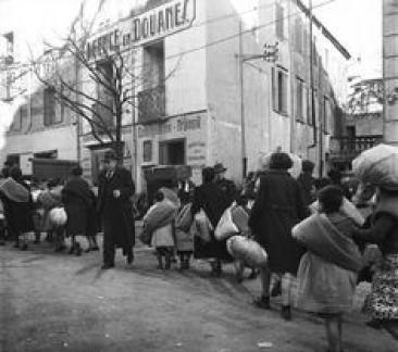 Le Perthus, 1939.