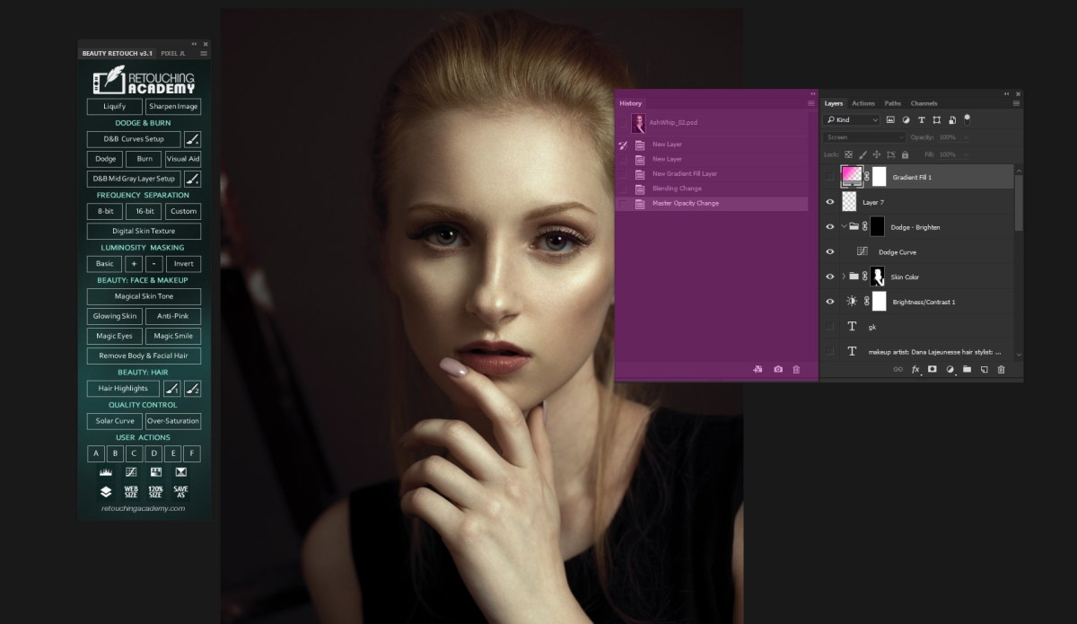 Photoshop Basics: Getting To Know The History Panel