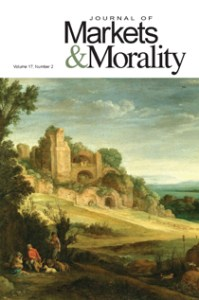 markets and morality