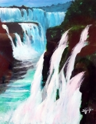 cataratas de Iguazu, autor Jose Manuel Gallego Garcia