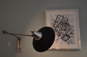 VAEN Utrecht lamp en schilderij