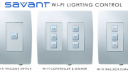 Savant Systems LLC's SmartLighting Wi-Fi 802.11-based lighting control products