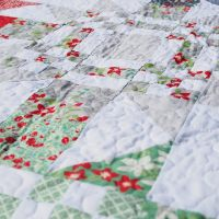 Could you make a quilt block or two?