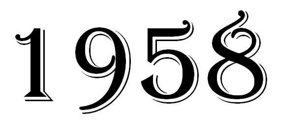 TOP 10 sláger 1958-ban