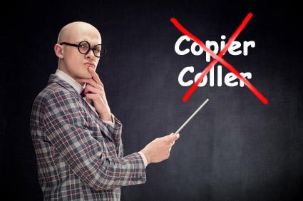 Copier Coller, c'est pas du jeu !