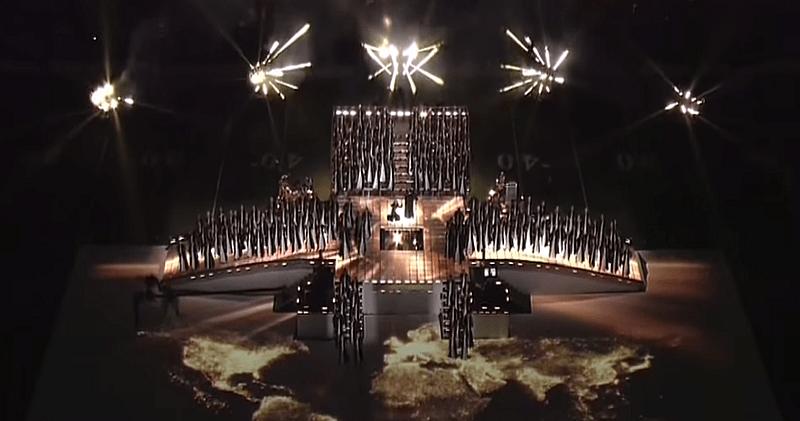 Super Bowl Half Time Show: Sumerian Symbols